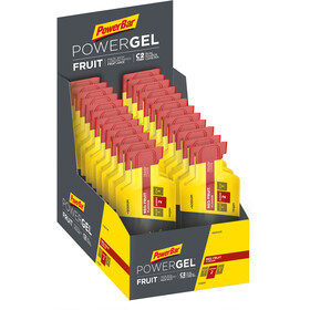 PowerBar PowerGel Fruit Box 24x41g Red Fruit